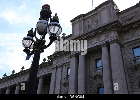 State Parliament House, Melbourne, Australia - Stock Photo