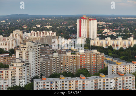Berlin, Germany, Gropius survey of the city in the evening light