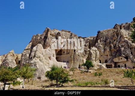 Goreme open air museum, Cappadocia, Anatolia, Turkey, Asia Minor, Eurasia - Stock Photo