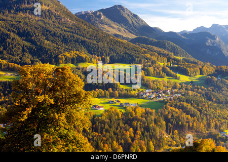 View of Berchtesgaden, Bavaria, Germany, Europe - Stock Photo