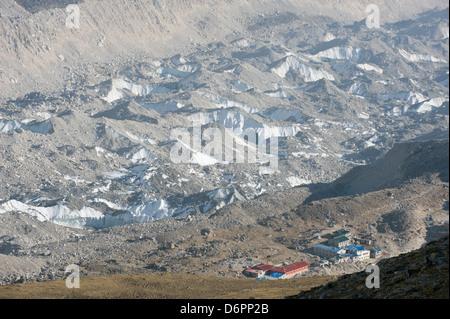 Gorak Shep; Solu Khumbu Everest Region, Sagarmatha National Park, Himalayas, Nepal, Asia - Stock Photo