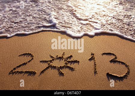 new year 2012-2013 - Stock Photo