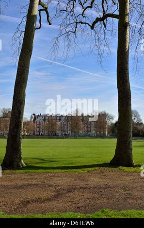 Burton's Court Park, Royal Hospital Road, Chelsea, London, United Kingdom - Stock Photo