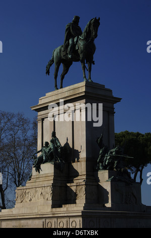 life of italian general and politician giuseppe garibaldi and his role to the history of italy A summary of italian unification the movement to unite italy into one cultural and political giuseppe mazzini and his leading pupil, giuseppe garibaldi.