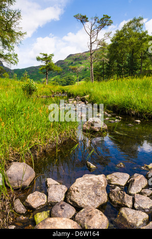 Bleamoss Beck in the Lake District, Cumbria, England. - Stock Photo