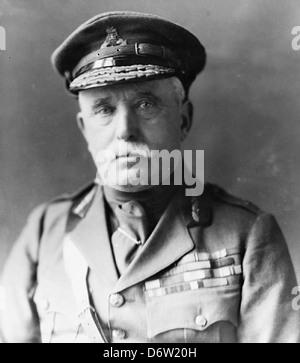 Field Marshal Sir John French - Stock Photo