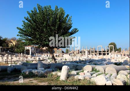 Asia, Turkey, Izmir, Agora (ancient City Of Smyrna, 1st ...