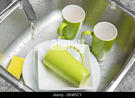 Soapy Water From Kitchen Faucet