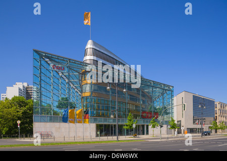 CDU Party Headquarter Konrad-Adenauer-House Berlin Germany Europe - Stock Photo