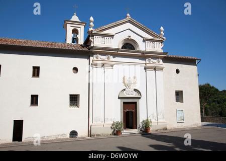 Europe, Italy, Tuscany, Porto Ercole, Argentario, monastery of st. joseph - Stock Photo