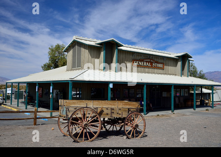 Historical general store at the Stovepipe Wells. Death Valley National Park, California, USA. - Stock Photo