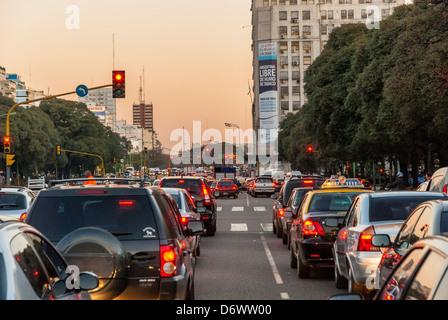 Argentina, south america, Buenos aires city, urban scenes - Stock Photo