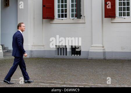 The Hague, The Netherlands. 23rd April, 2013. Prince Jaime Bernardo of Bourbon-Parma, Count of Bardi, Duke of San - Stock Photo