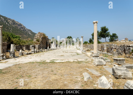 Ephesus Turkey The Great Theatre Arcadian Way background ...