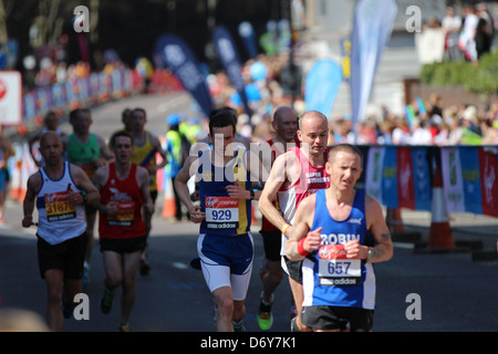 The Virgin London Marathon 2013 - Stock Photo
