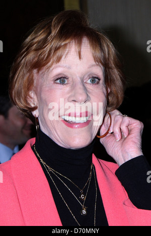Carol Burnett The International Cinematographers Guild's 49th Annual Publicists Awards Luncheon at The Beverly Hilton - Stock Photo