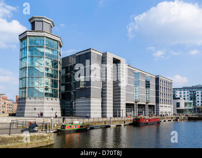The Royal Armouries Museum at Clarence Dock, Leeds, West Yorkshire, UK - Stock Photo