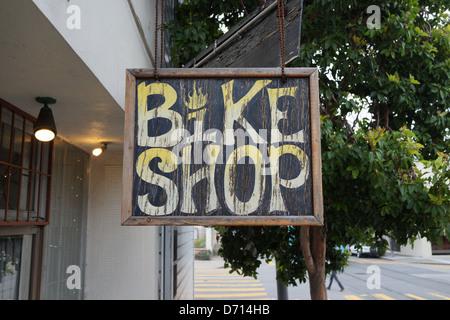 Bike shop - Stock Photo