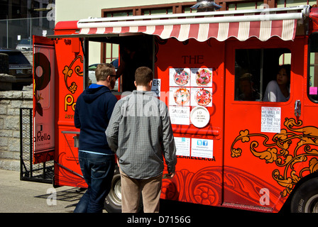 Pizza Food Truck Vancouver