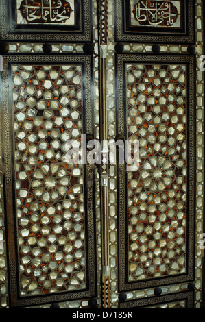 ... Turkey Istanbul Topkapi Palace Mother Of Pearl Inlaid Door Detail - Stock & Mother of Pearl Inlaid Doors of the Harem Topkapi Palace Istanbul ...