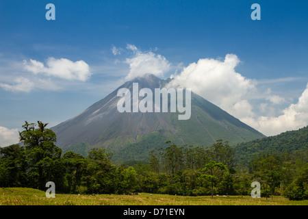 Arenal Volcano, Arenal Volcano National Park, Costa Rica - Stock Photo