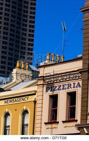 Street scene, Sydney, New South Wales, Australia - Stock Photo