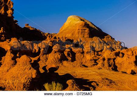 Goblin Valley State Park, near Hanksville, Utah, USA - Stock Photo