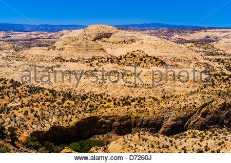 Grand Staircase-Escalante National Monument, near Boulder, Utah USA - Stock Photo