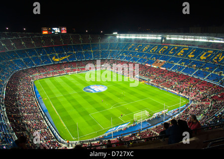 F. C. Barcelona, Camp Nou - Stock Photo