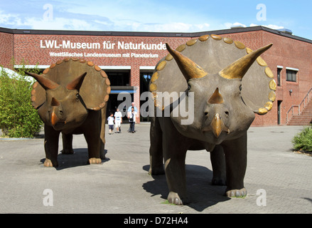Muenster, Germany, the LWL Museum of Natural History - Stock Photo