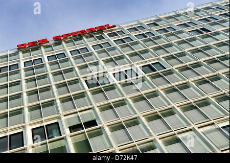 Spiegel publishing company building in the Ericusspitze in the harbour city of Hamburg, Germany, Europe - Stock Photo