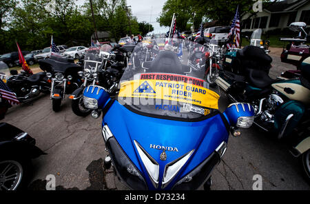 April 27, 2013 - West, Texas, U.S -  Funeral services are held at St. Mary's Catholic Church of the Assumption for - Stock Photo