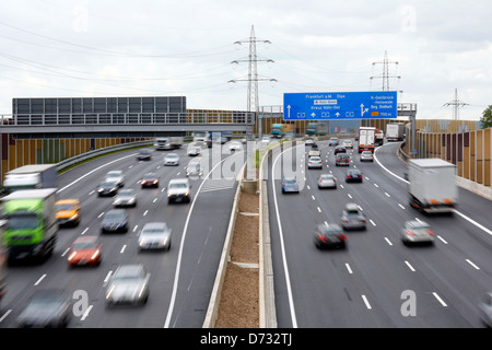 Cologne, Germany, the A3 motorway, beltway Cologne ' - Stock Photo
