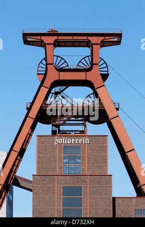 Essen, Germany Zeche Zollverein - Stock Photo