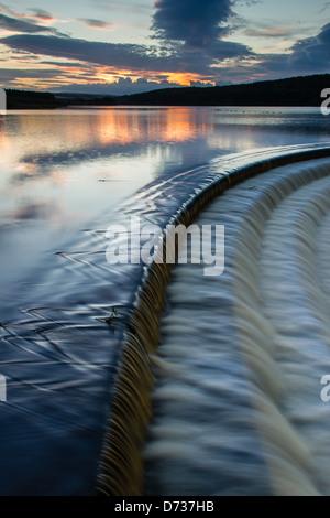 Fewston reservoir at sunset, Near Harrogate in Yorkshire