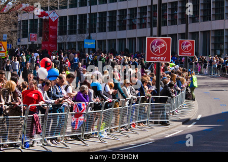2013 London marathon - Stock Photo
