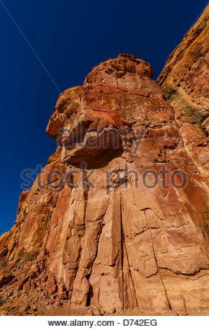 Pueblo Bonito, Chaco Culture National Historical Park (Chaco Canyon), New Mexico USA. - Stock Photo