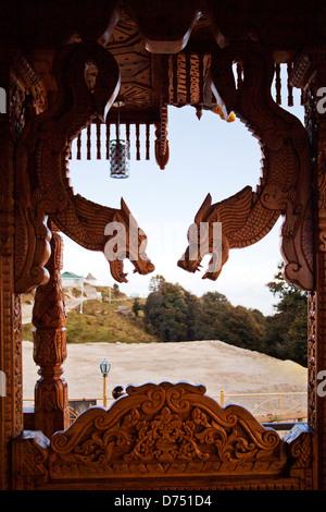 Interiors of a temple, Shimla, Himachal Pradesh, India - Stock Photo