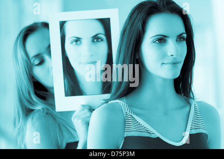 Conceptual image about impersonation. - Stock Photo