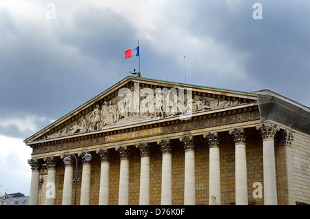 The National Assembly Paris France - Stock Photo