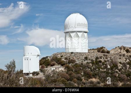 Mayall 4-Meter Telescope, Kitt Peak, Arizona. - Stock Photo