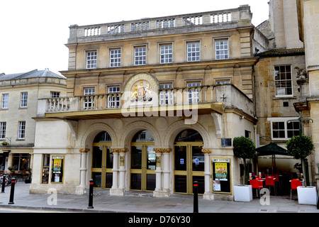 The New Theatre Royal in Bath England Uk - Stock Photo