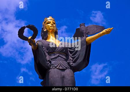 Statue Of Sofia In Sofia The Capital Of Bulgaria by Georgi Chapkanov - Stock Photo