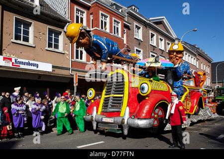 Belgium Walloonia Liege province Malmedy city carnival - Stock Photo
