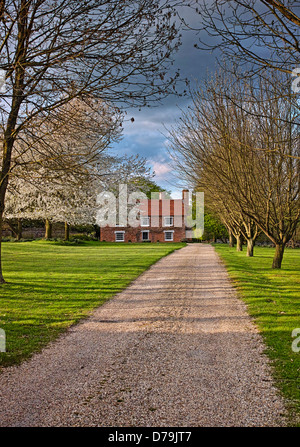 English country house - Stock Photo