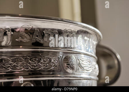 1st May 2013, Belfast, Northern Ireland.  Sam Maguire GAA gaelic football trophy cup - Stock Photo