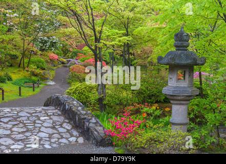 Stone Bridge Japanese Tea Garden Golden Gate Park San