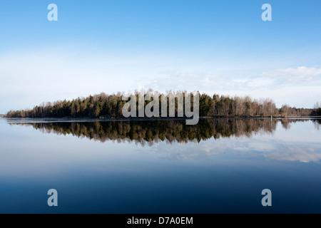 lake view, Lappeenranta Finland - Stock Photo