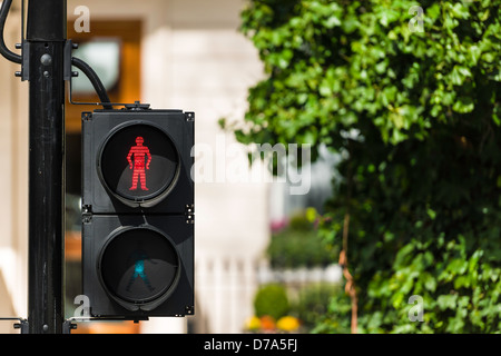 The Little Red Man - Stock Photo