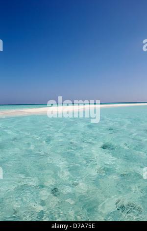 Beautiful Deserted Beach - Stock Photo